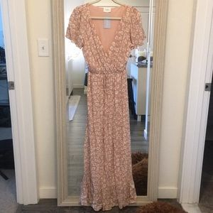 Every Blush Maxi Dress